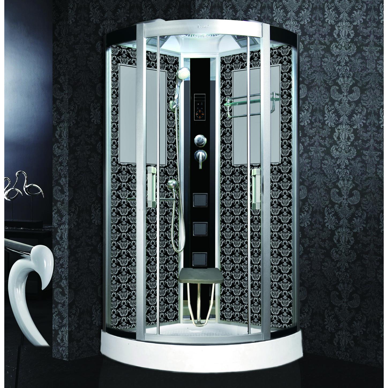 Душевая кабина Niagara Lux 7715B черный душевая кабина mirwell 120x80x215 см mr4512tpl c1