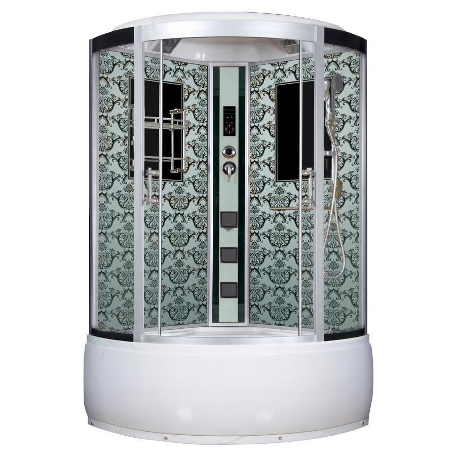 Душевая кабина Niagara Lux 7744W белый душевая стойка lux railkit цвет хром высота 75 см
