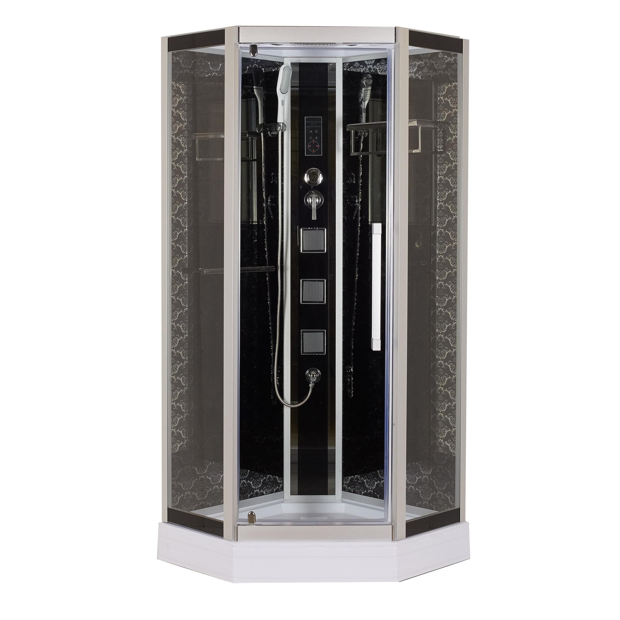Душевая кабина Niagara Lux 7799B черный душевая стойка lux railkit цвет хром высота 75 см