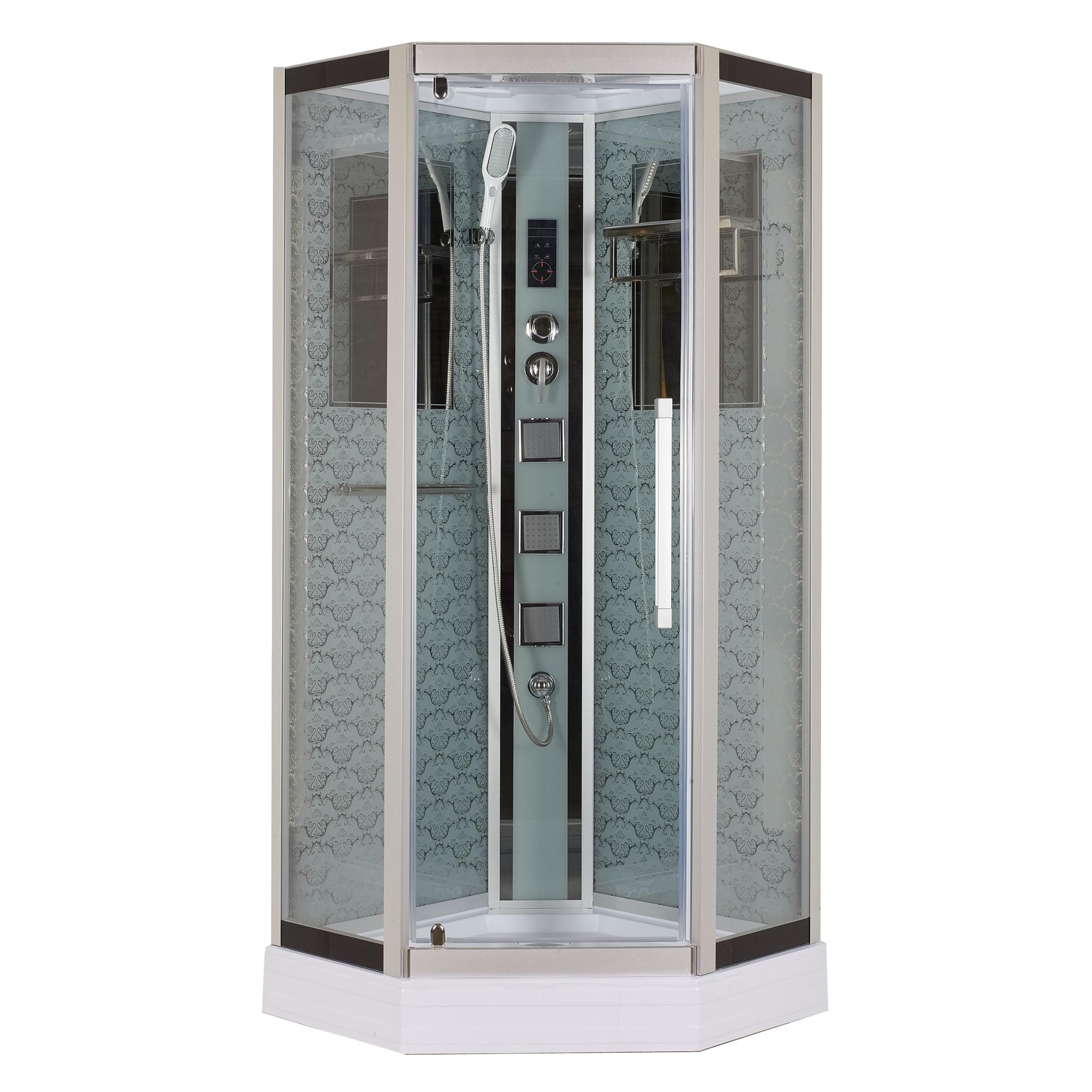 Душевая кабина Niagara Lux 7799W белый душевая кабина mirwell 120x80x215 см mr4512tpl c1