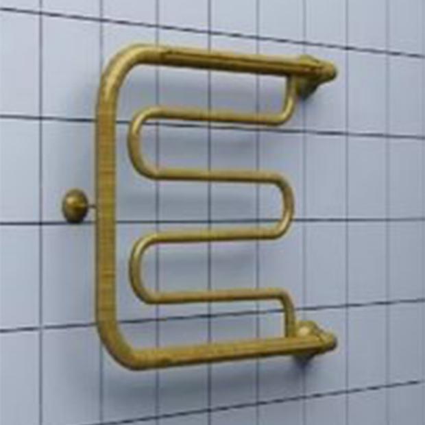 Водяной полотенцесушитель Ника ECON ПМ 60/80 с полкой бронза полотенцесушитель ника econ 60х80 водяной пм 3 60 80