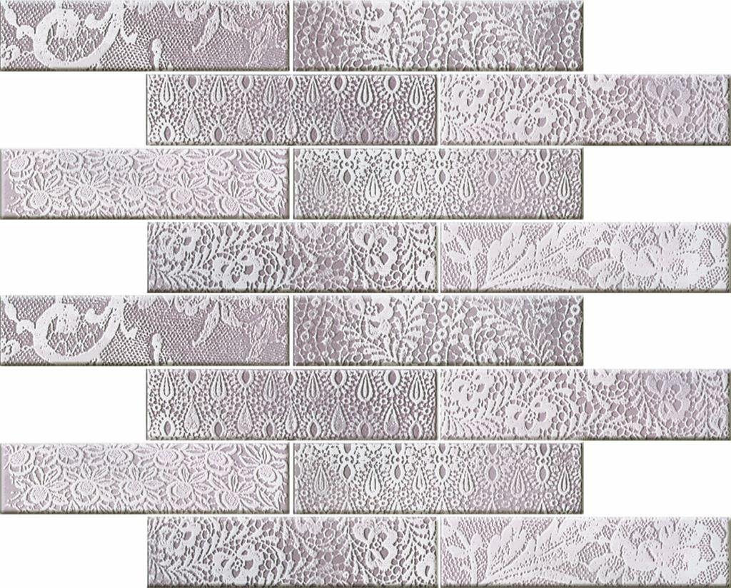 Мозаика Novogres Mosaico Blonda Viola 35х34,6 мозаичный декор novogres nantes mosaico diamante 30x33