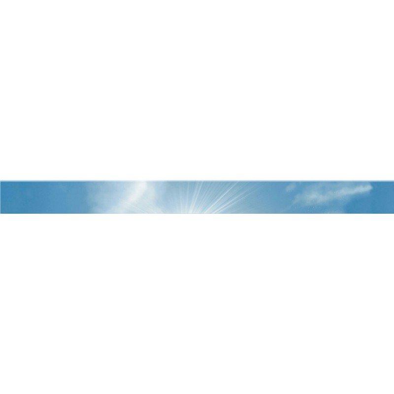 Бордюр Novogres Cen. Acuario Cielo (небо) 5х60 бордюр настенный 7х30 london cen белый