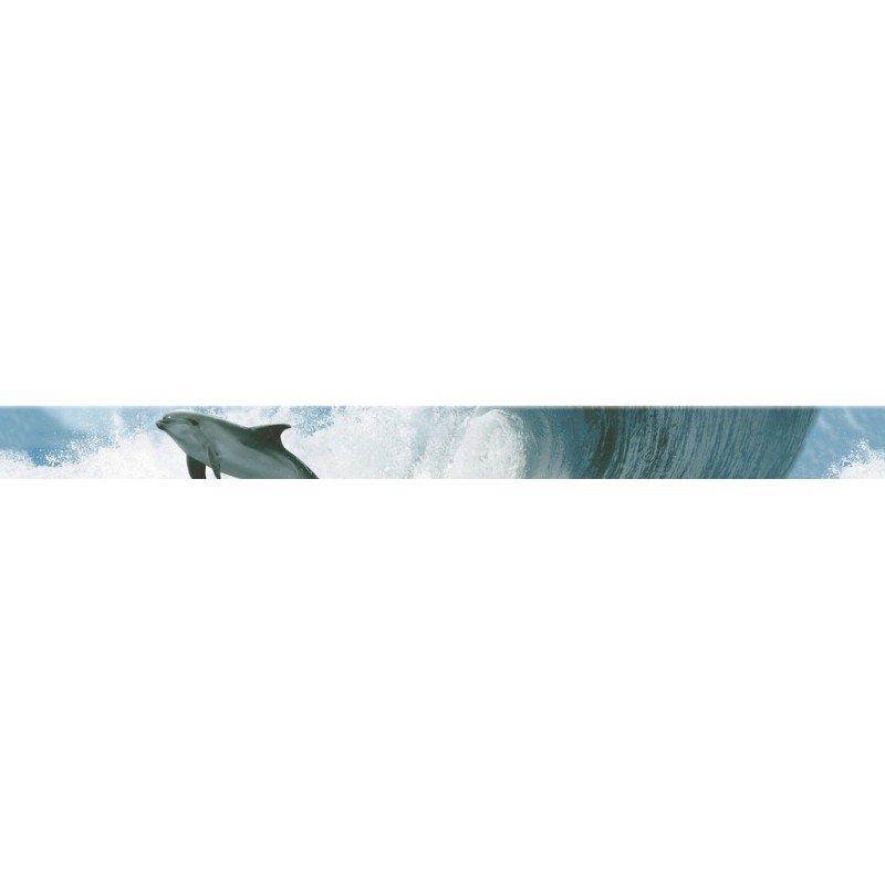 Бордюр Novogres Cen. Acuario Mar (дельфин) 5х60 бордюр keros ceramica dance cen vanilla 5х70