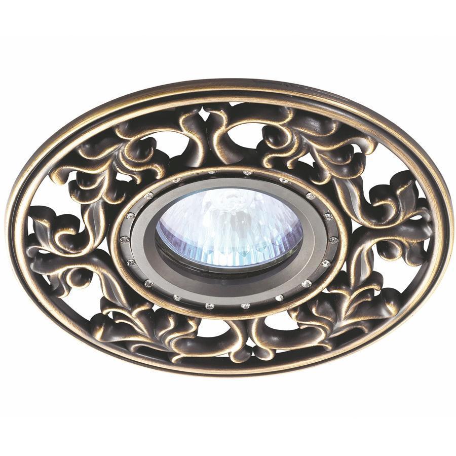 Встраиваемый светильник Novotech Vintage 369988 встраиваемый светильник novotech vintage 369988