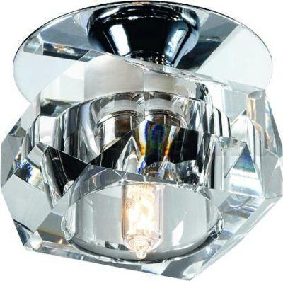 Встраиваемый светильник Novotech Crystals 369299 встраиваемый светильник novotech crystals 369299