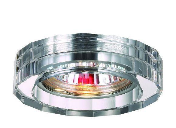 цена на Встраиваемый светильник Novotech Glass 369487