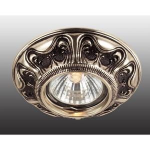 Встраиваемый светильник Novotech Vintage 369854 встраиваемый светильник novotech vintage 369854