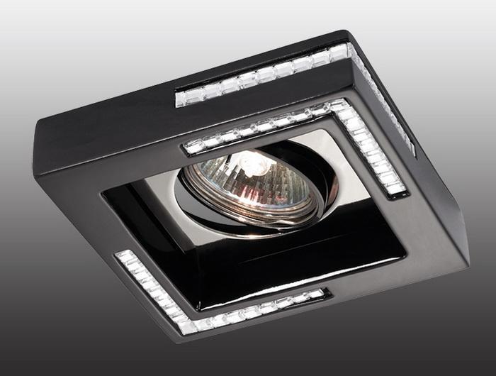 Встраиваемый светильник Novotech Fable 369844 novotech fable 369844 black
