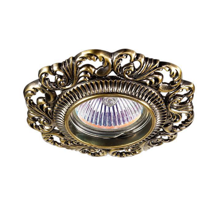 Встраиваемый светильник Novotech Vintage 122 370024 370024 novotech