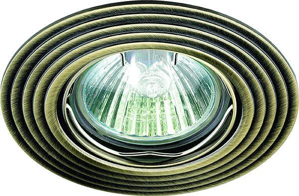 цена на Встраиваемый светильник Novotech Antic 369162