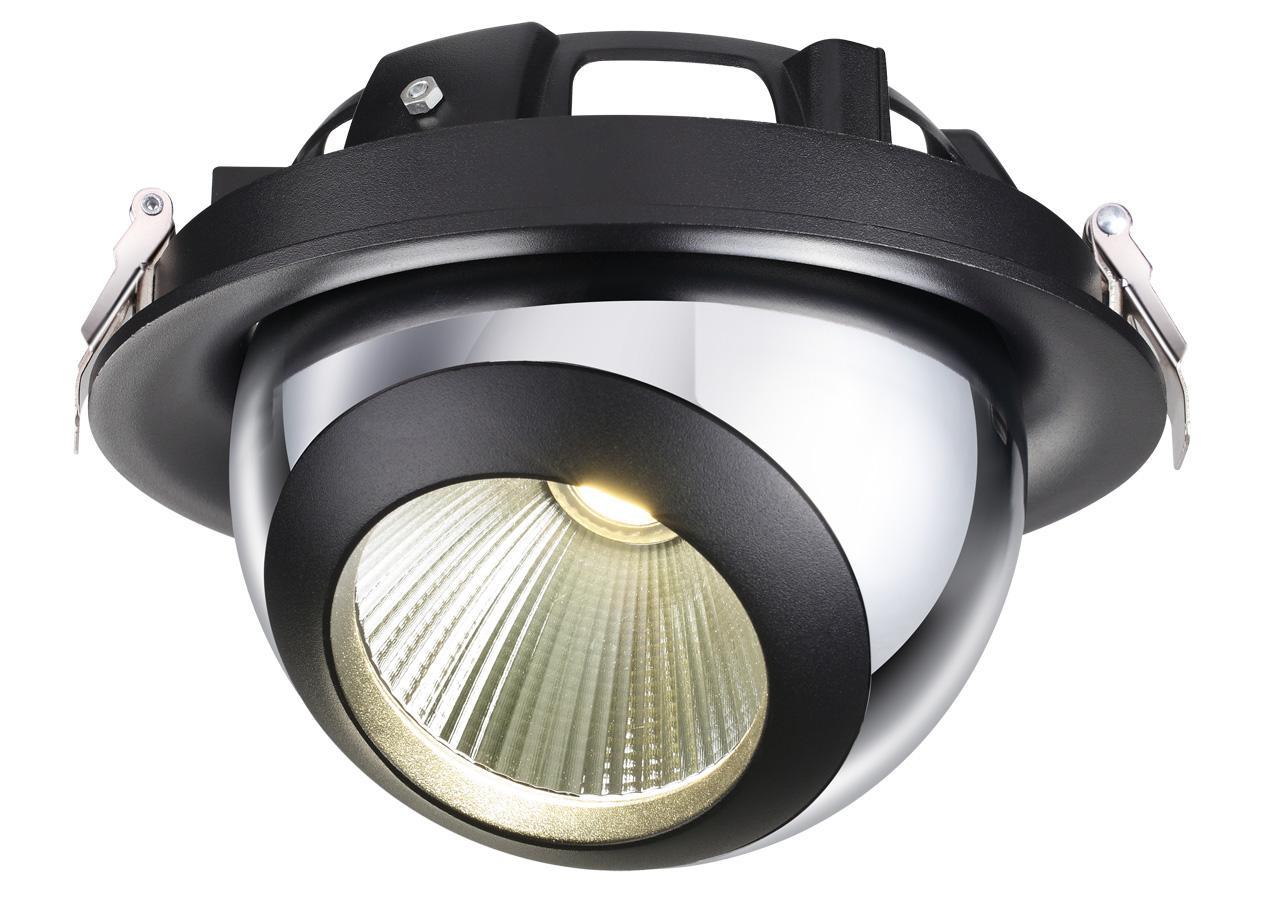 Встраиваемый светодиодный светильник Novotech Glob 358040 adda ad7512hb 7530 dc12v 0 24a