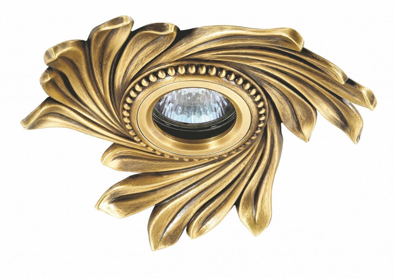 Встраиваемый светильник Novotech Vintage 369966 встраиваемый спот точечный светильник novotech vintage 369966