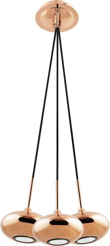 Люстра Nowodvorski Lipari Copper 6244 подвесная nowodvorski cable black copper vii