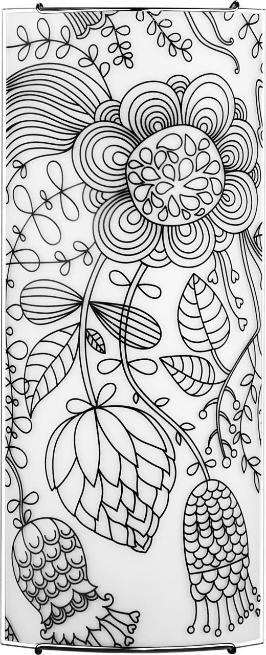 Настенно-потолочный светильник Nowodvorski Blossom Black 5603 5603