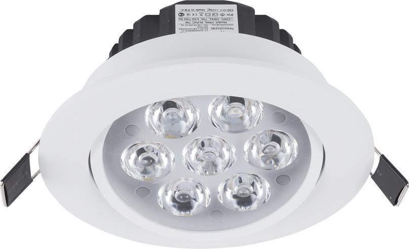 Встраиваемый светодиодный светильник Nowodvorski Ceiling Led 5960 nowodvorski встраиваемый светодиодный светильник nowodvorski ceiling led 5960
