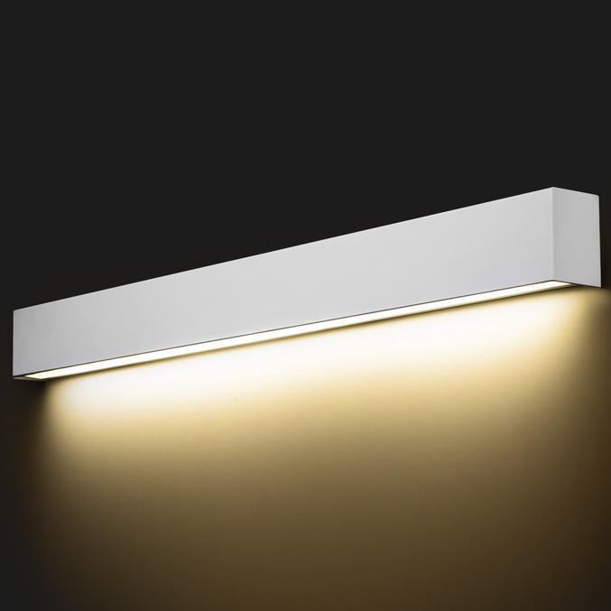 Настенный светодиодный светильник Nowodvorski Straight Wall 9611 настенный светодиодный светильник nowodvorski straight wall 9610