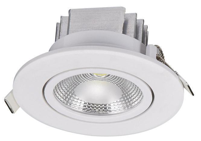 Встраиваемый светодиодный светильник Nowodvorski Downlight Cob 6971 6pcs lot привело 3w чистый белый светодиодный cob чип downlight dimmer встраиваемый светодиодный потолочный светильник