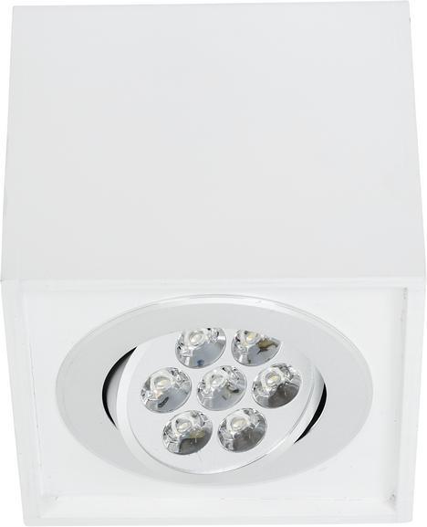 Потолочный светодиодный светильник Nowodvorski Box Led 6422 nowodvorski потолочный светильник nowodvorski straight led white seiling s 9620