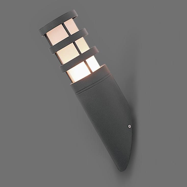 Уличный настенный светильник Nowodvorski Norin 4445 norin 12x25 black