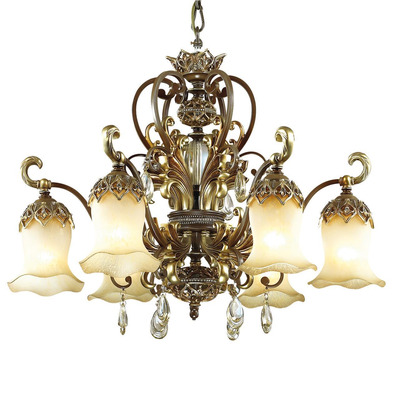 Подвесная люстра Odeon Light Safira 2802/6 benetti подвесная люстра odeon light safira 2802 8