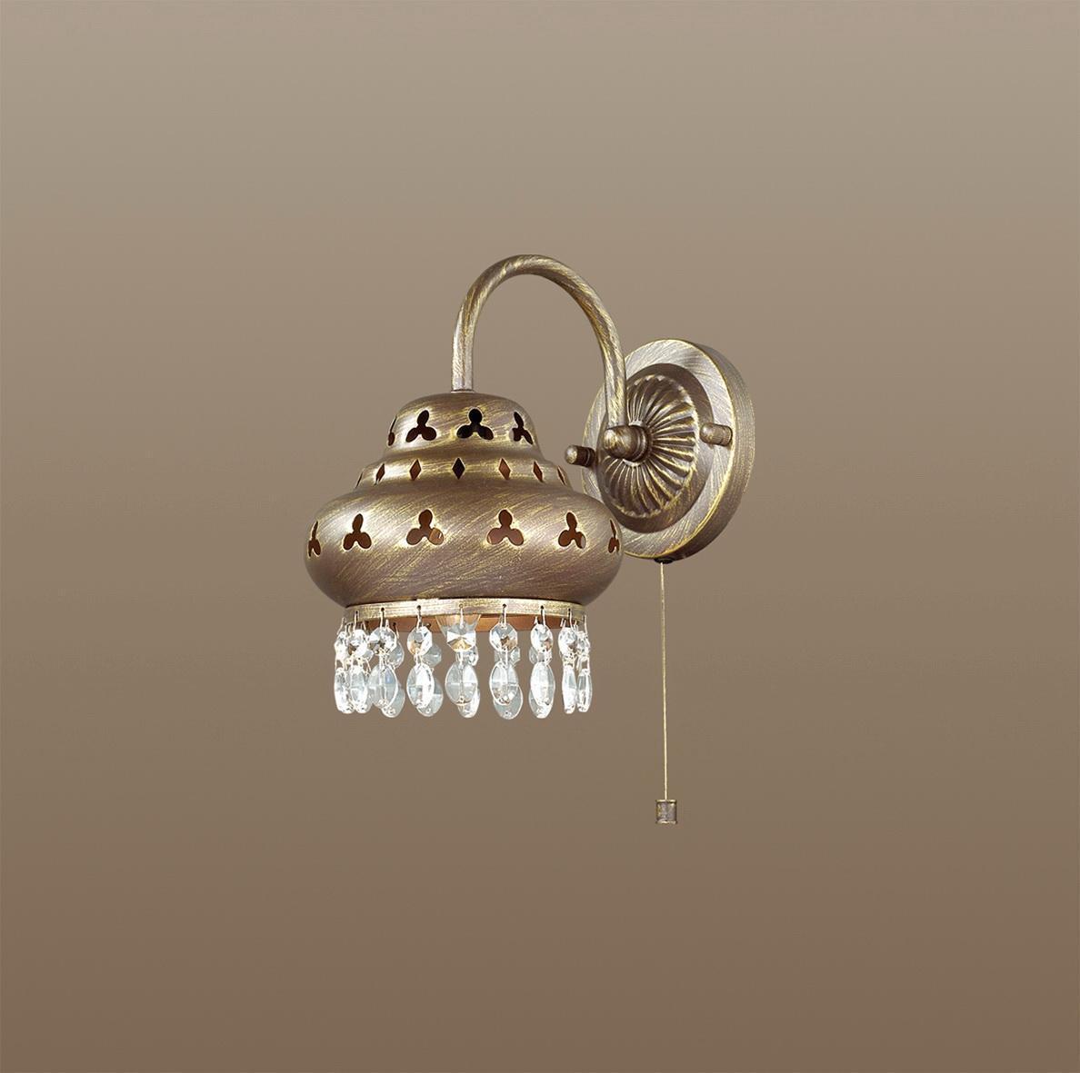 Бра Odeon Light Bahar 2841/1W odeon light bahar 2842 1w