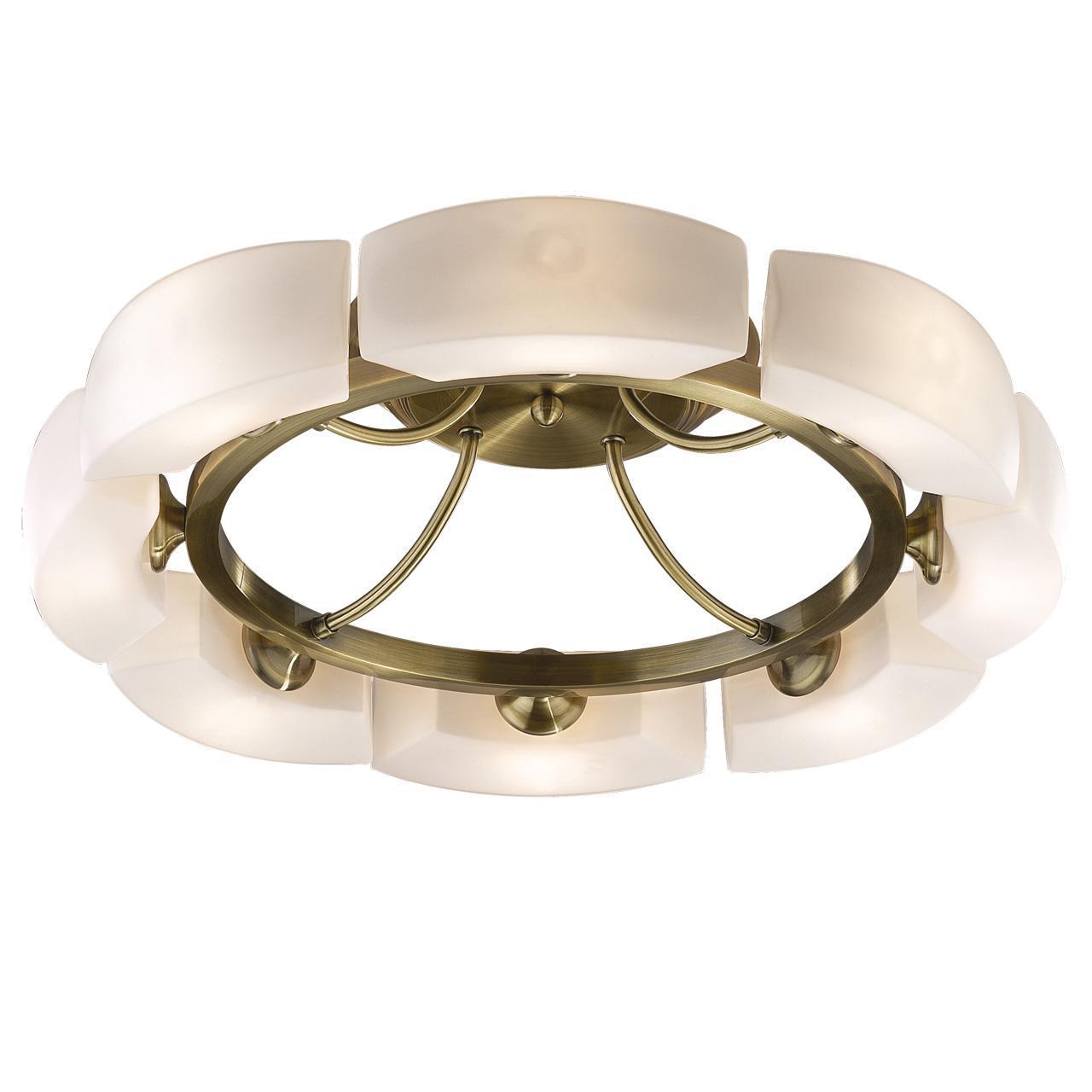 Люстра Odeon Light Barca 1713/8C потолочная odeon light потолочная люстра odeon light barca 1713 8c
