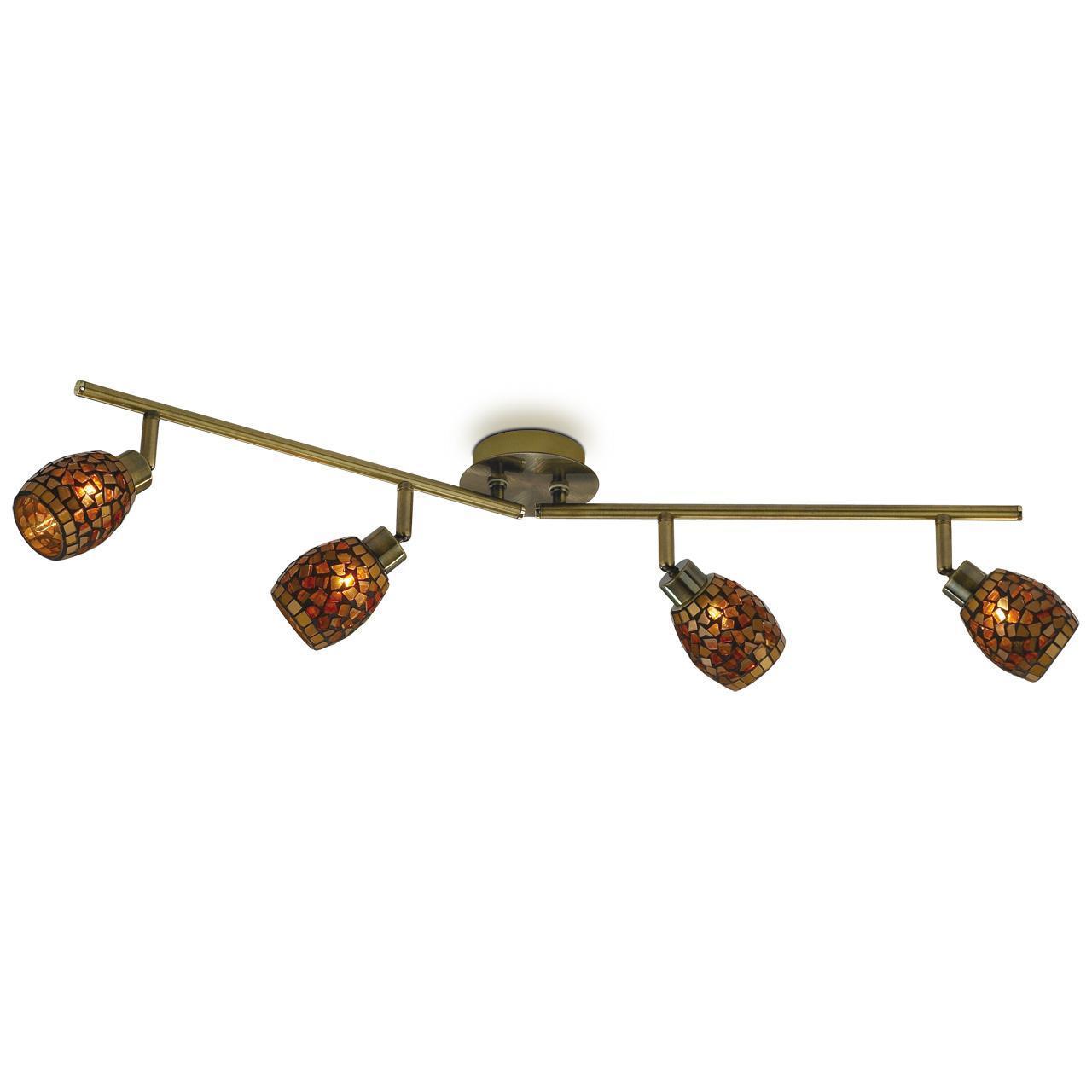 Спот Odeon Light Glosse 2167/4W светильник настенный odeon light 2167 4w odl11 722 g9 4 40w 220v glosse мозаика янтарный