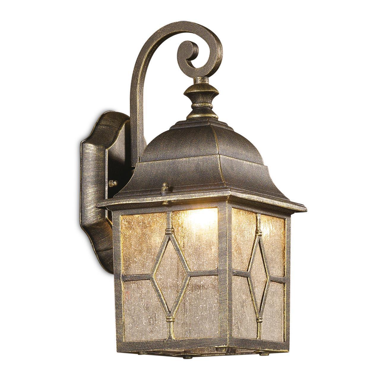 Уличный настенный светильник Odeon Light Lartua 2309/1W odeon light настенный светильник odeon light lartua 2309 1w q5f0y3 g