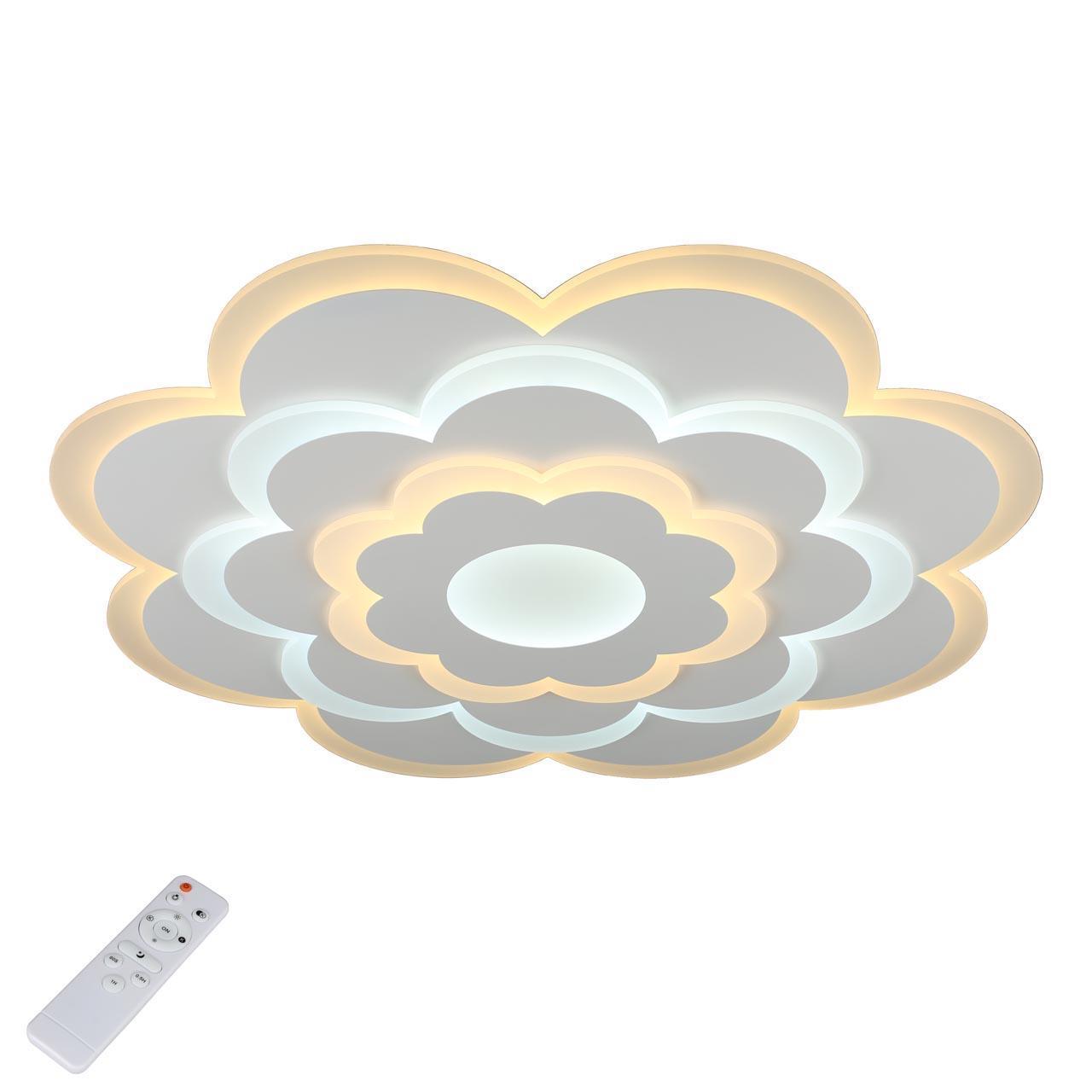 Потолочный светодиодный светильник с пультом ДУ Omnilux Granarola OML-05107-120