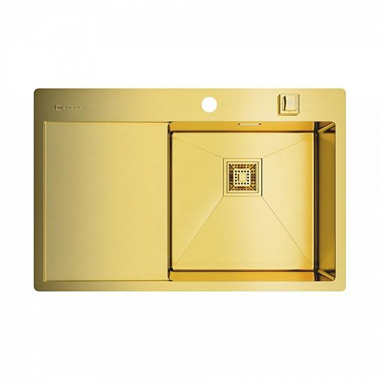 Кухонная мойка Omoikiri Akisame 78 LG R 4973086 кухонная мойка omoikiri akisame 78 gm r 4973100