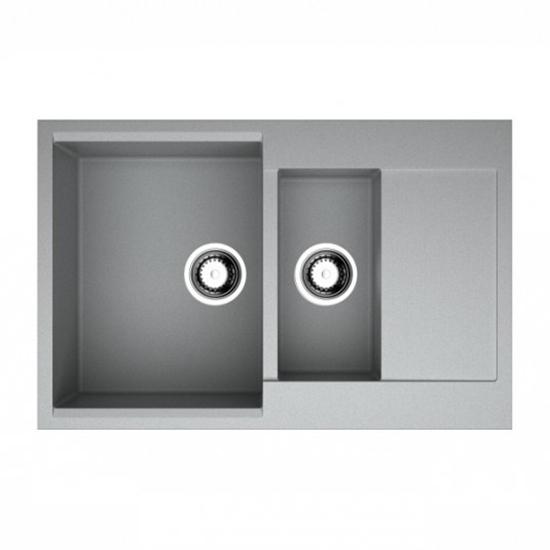 Кухонная мойка Omoikiri Daisen 78 2 GR 4993332 кухонная мойка omoikiri kata 20 u gr artgranit leningrad grey 4993376