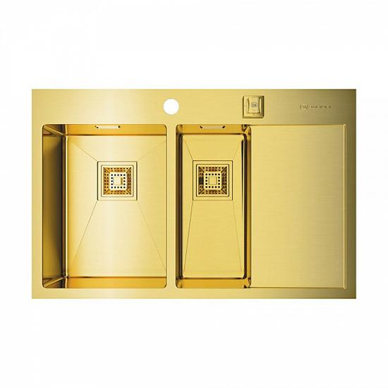 Кухонная мойка Omoikiri Akisame 78-2-LG-L 4973087 кухонная мойка omoikiri akisame 78 2 gm l 4973101