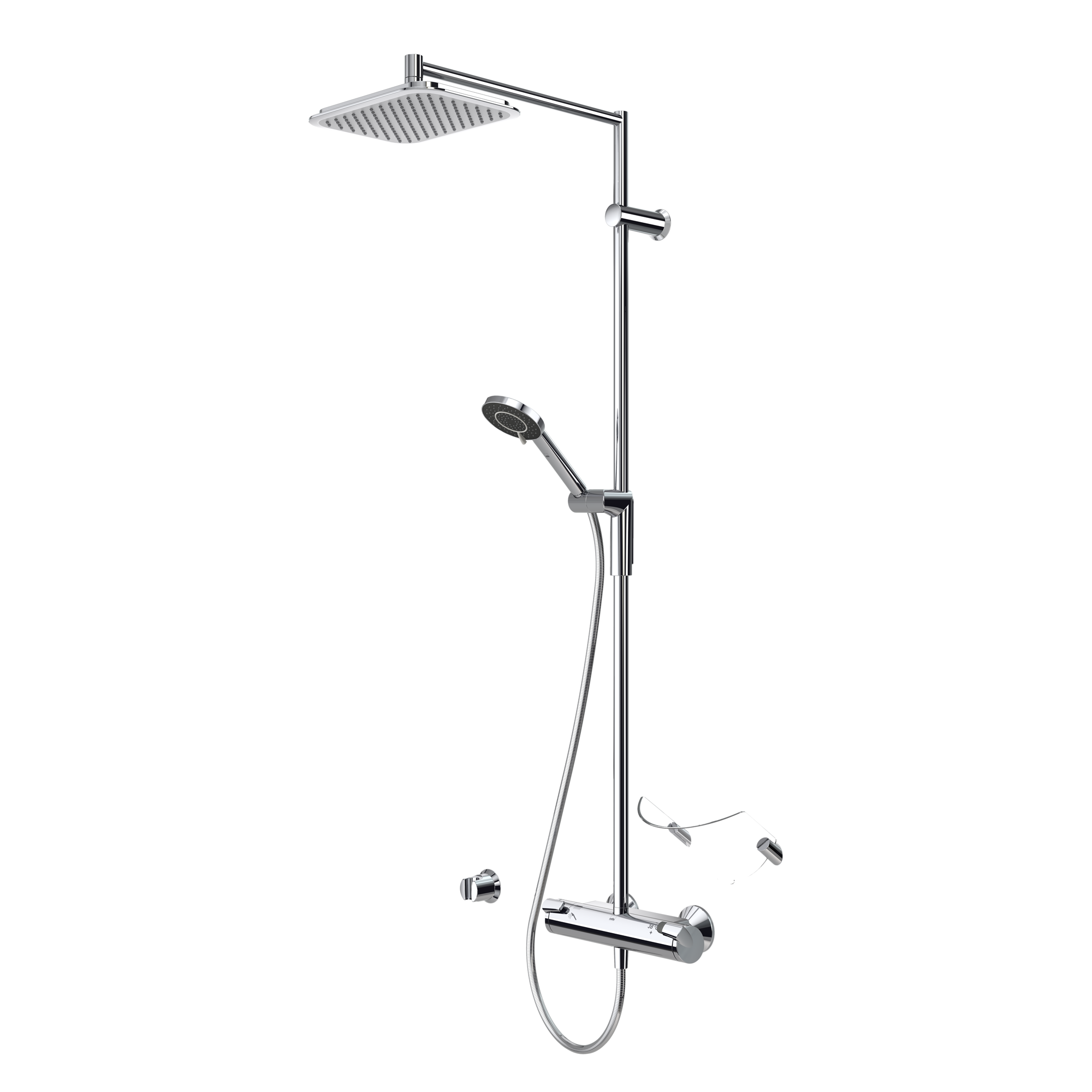 Душевая стойка Oras Optima 7192U best price wall mounted rain shower set square shower head 8 shower set with control valve shower set faucets