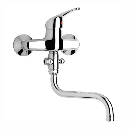 Смеситель Paini Creta 42CR119 для ванны смеситель для ванны paini creta 30cr111r2lmkm