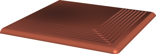 Cloud Rosa ступень угловая 30х30 мм/10 шт. ступень угловая 30х30 аллея светлый