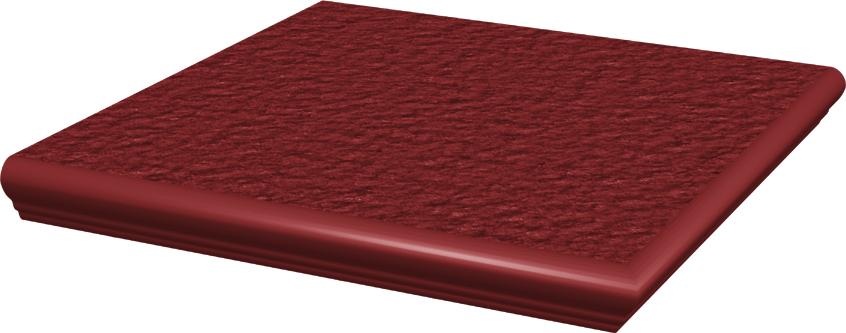 Natural Rosa Duro Ступень угловая с носиком структ 33х33х1,1 ступень paradyz natural простая brown duro 30x30