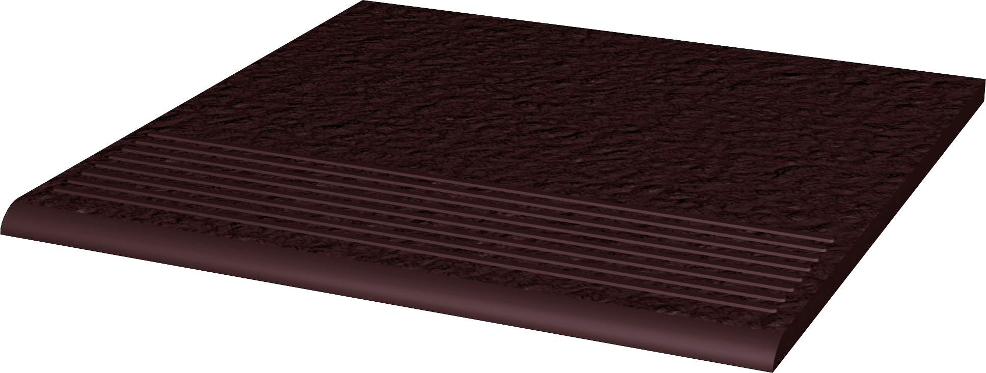 Natural Brown Duro Ступень простая структ 30х30х1,1 ступень paradyz natural простая brown duro 30x30