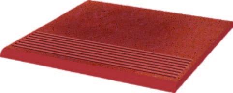 Taurus Rosa Ступень рифленая простая структурная 30х30х1,1 paradyz cloud простая с капиносом rosa 30x33
