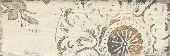 Rondoni Beige Inserto Struktura C Декор 98х298 /34 декор cir docklands inserto flowers grey 8 6x26 2