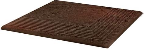Semir Brown Ступень угловая структурная 30х30х1,1 (в шт) цена