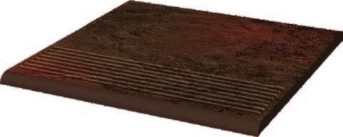 Semir Brown Ступень простая структурная 30х30х1,1 ступень paradyz natural простая brown duro 30x30