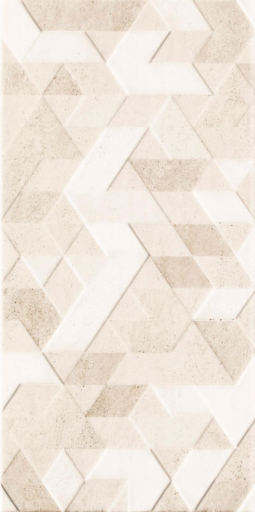 Настенная плитка Ceramika Paradyz Emilly Beige struktura decor 30x60 (1,44) бордюр paradyz emilly milio sepia 2 3x60