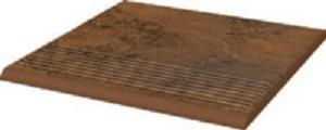 Ступень Ceramika Paradyz Semir Beige Stopnica Prosta 30х30 (0,9) ступень opoczno simple red stopnica strukturalny 3 d 30х30