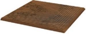 Ступень угловая Ceramika Paradyz Semir Beige Stopnica NAROZNA 30х30 ступень opoczno simple red stopnica strukturalny 3 d 30х30