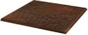 Ступень угловая Ceramika Paradyz Semir Brown Stopnica NAROZNA 30х30 ступень opoczno simple red stopnica strukturalny 3 d 30х30
