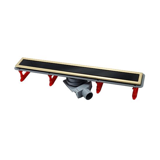 Трап для душа Pestan Confluo Premium Gold Black Glass Line 850
