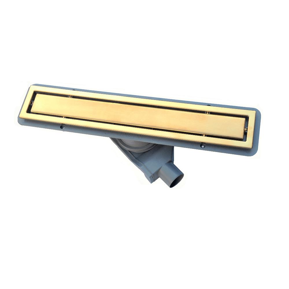 Трап для душа Pestan Confluo Premium Gold Line 450 душевой трап pestan square 3 150 мм 13000007