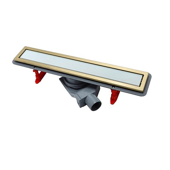 Трап для душа Pestan Confluo Premium White Glass Gold Line 450 трап для душа pestan confluo premium gold black glass line 300