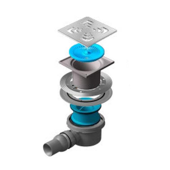 Трап для душа Pestan Confluo Standard Square 1 1 5kw air cooled spindle motor cnc spindle motor 110v 220v 1 5kw inverter 1set er11 square milling machine spindle